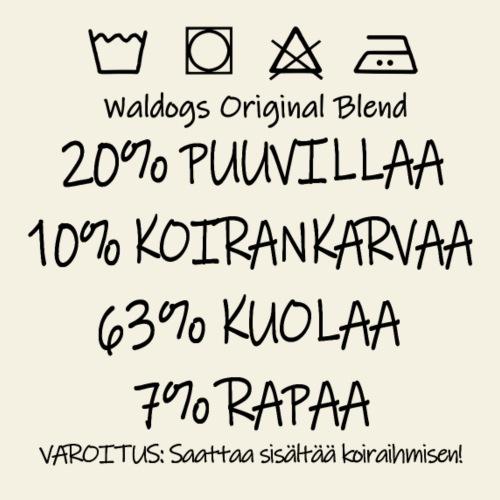 Waldogs O Blend KuolaII - Miesten premium t-paita