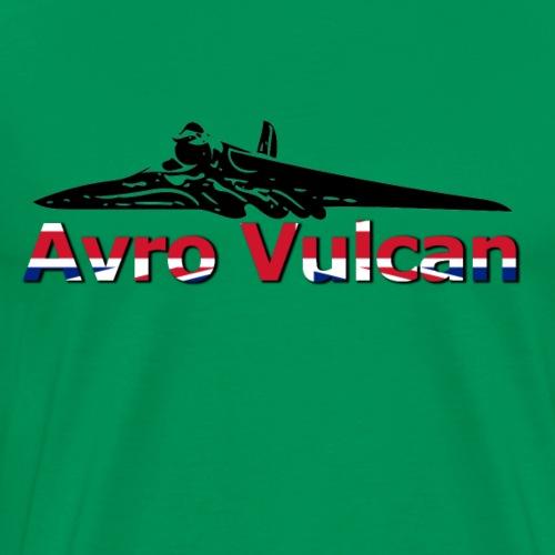 Avro Vulcan -- XH558 Tribute - Men's Premium T-Shirt
