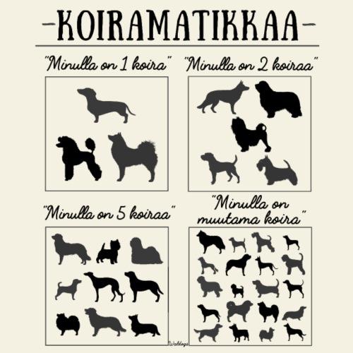 Koiramatikkaa III - Miesten premium t-paita