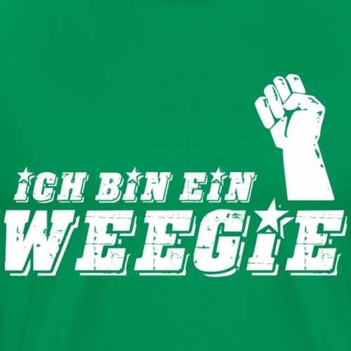 Ich Bin Ein Weegie - Men's Premium T-Shirt