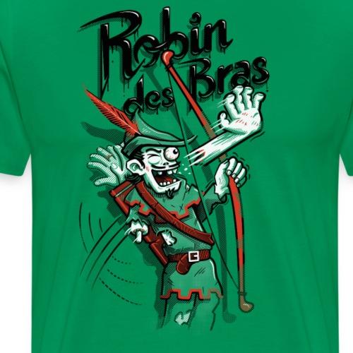 Robin des Bras - Men's Premium T-Shirt