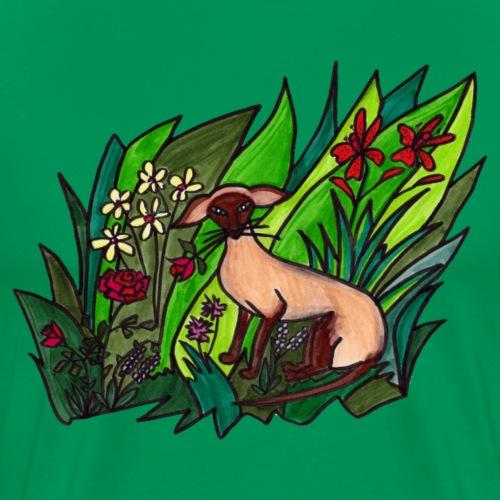 Funtes trädgård - Premium-T-shirt herr
