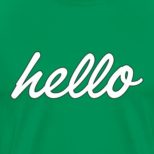 Hello World - T-shirt Premium Homme