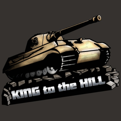 King to the Hill - Männer Premium T-Shirt