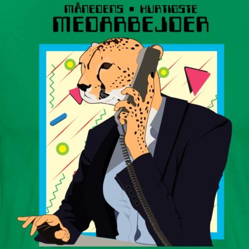 Kontor gepard - Herre premium T-shirt