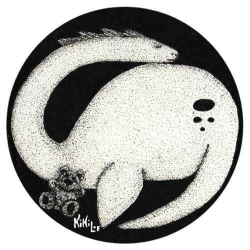 Nessie Durmiente (Monstruo del lago Ness) - Camiseta premium hombre