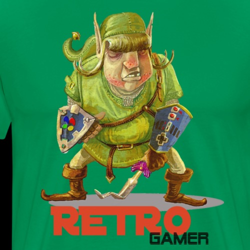 Retro-Gamer - T-shirt Premium Homme
