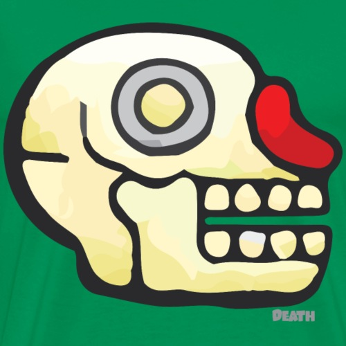 Aztec Icon Death - Men's Premium T-Shirt