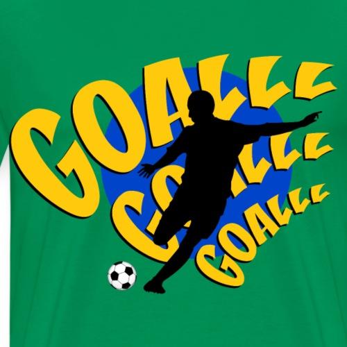 goalll brazil - Men's Premium T-Shirt