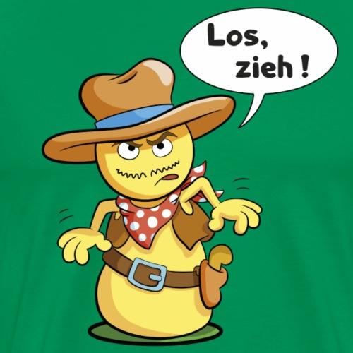 Los zieh - Männer Premium T-Shirt