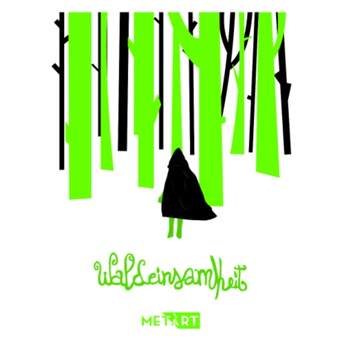Waldeinsamkeit - Maglietta Premium da uomo
