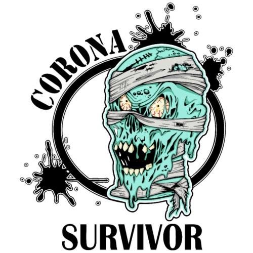 Corona survivor - Premium-T-shirt herr