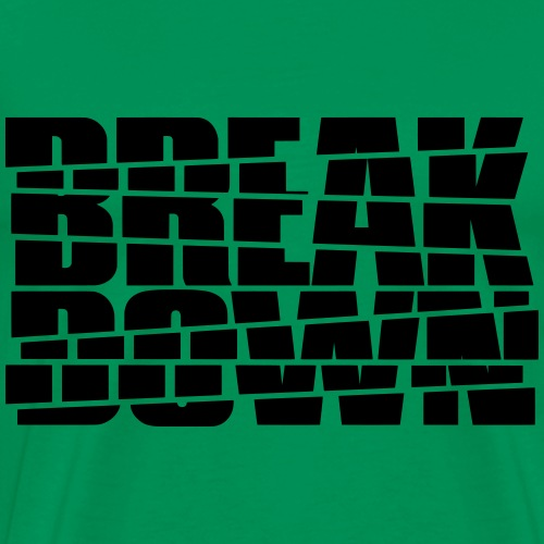 Break Down - Männer Premium T-Shirt