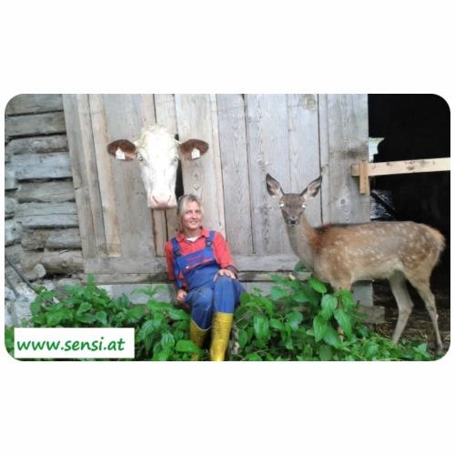 SenSi ♥ Hilfsprojekt für Kühe - Männer Premium T-Shirt