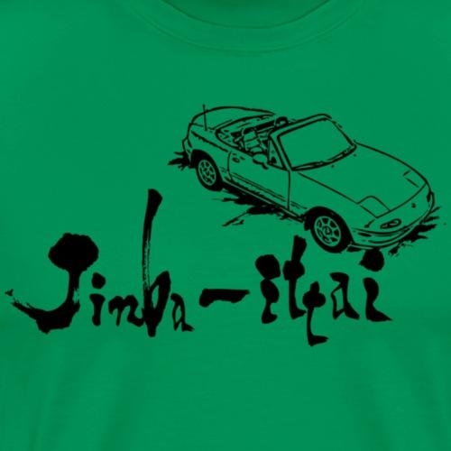 Jinba Ittai - Herre premium T-shirt