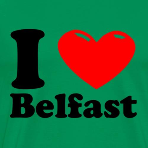 I heart Belfast - Men's Premium T-Shirt