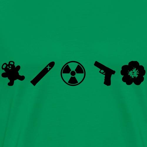 Northmoor 5 Icons - Men's Premium T-Shirt