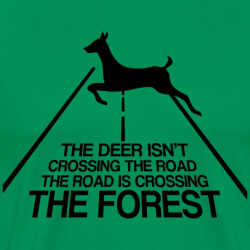 Deer forest - Men's Premium T-Shirt