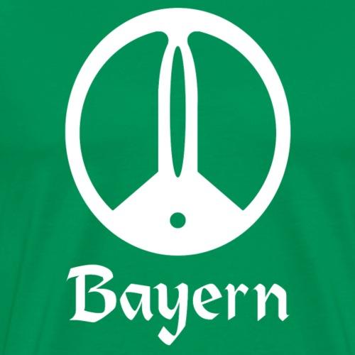 Sondeln Bayern Weiß - Männer Premium T-Shirt