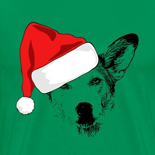 Weihnachten Podenco-Mix Hund Geschenk Podimix - Männer Premium T-Shirt
