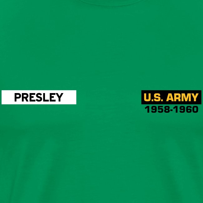 Presley in the Army