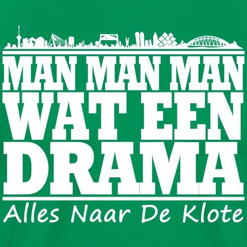 drama - Mannen Premium T-shirt