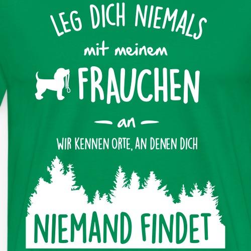 Mein Frauchen - Männer Premium T-Shirt
