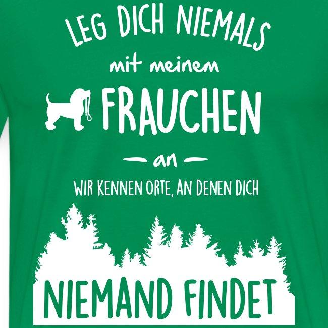 Vorschau: Mein Frauchen - Männer Premium T-Shirt