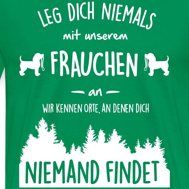Vorschau: Unser Frauchen - Männer Premium T-Shirt