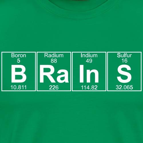B-Ra-In-S (brains) - Full - Men's Premium T-Shirt