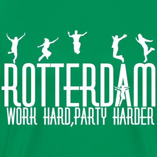 Work hard, party harder - Mannen Premium T-shirt