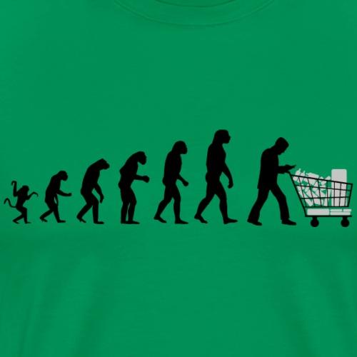 Evolution of man: Consumer society N - Men's Premium T-Shirt