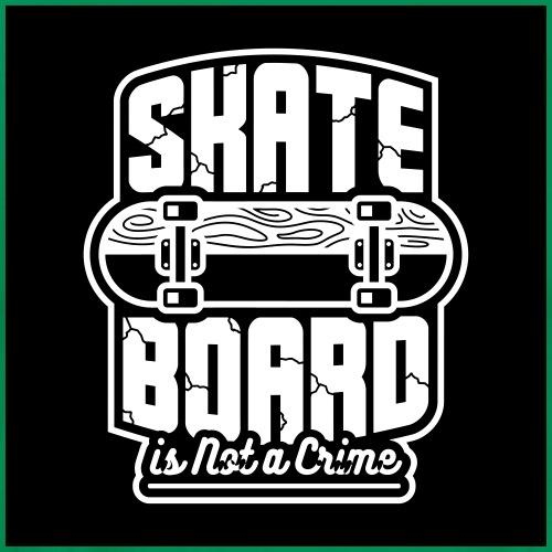 Skateboard T-shirt ✅ - Männer Premium T-Shirt