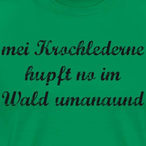 mei Krochlederne - Männer Premium T-Shirt