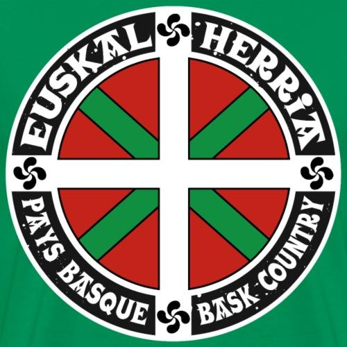 Drapeau Basque, Ikurriña - T-shirt Premium Homme