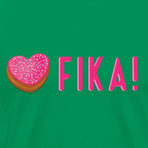 Jag älskar fika! - Miesten premium t-paita