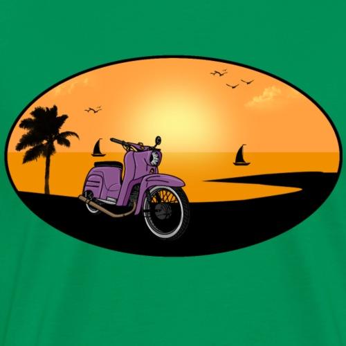 Schwalbe Strand - Männer Premium T-Shirt