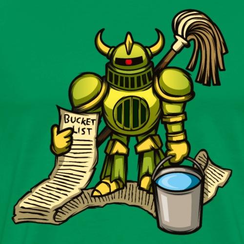 Bucket Knight - Men's Premium T-Shirt