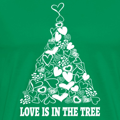 Love is in the Tree Christmas - Männer Premium T-Shirt