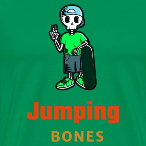 Skater Jumping Bones - Männer Premium T-Shirt