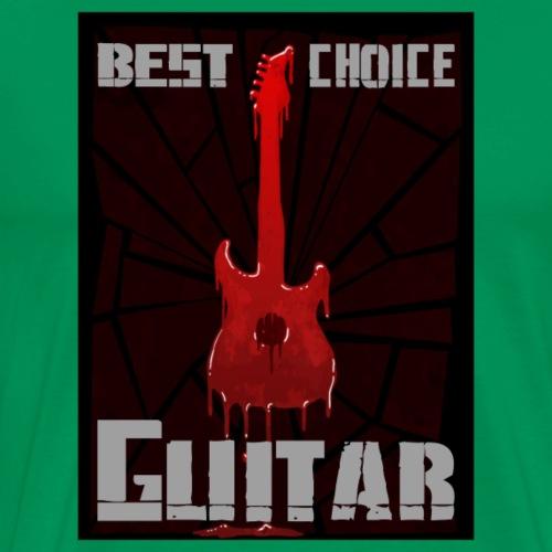 Guitar best choice - Männer Premium T-Shirt