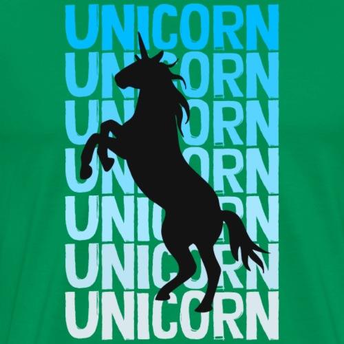 Unicorn - Männer Premium T-Shirt