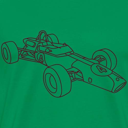 Rennwagen, Rennauto, Motorsport - Männer Premium T-Shirt