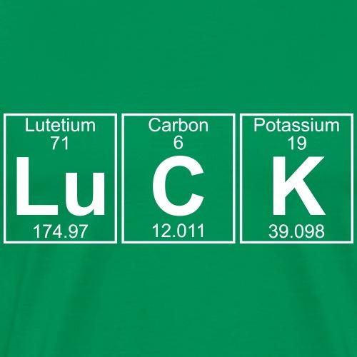 Lu-C-K (luck) - Full - Men's Premium T-Shirt