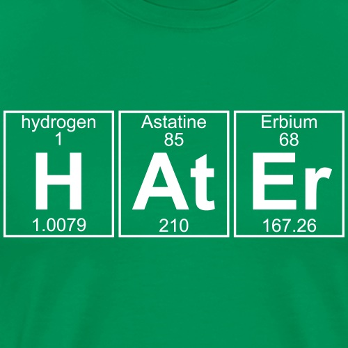H-At-Er (hater) - Full - Men's Premium T-Shirt