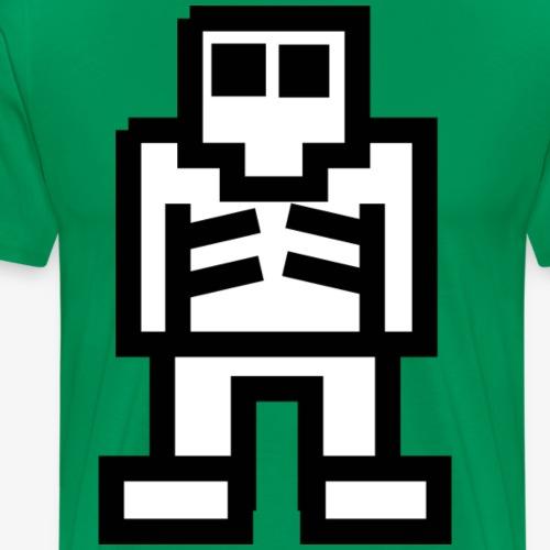 Esqueleto blanco - Camiseta premium hombre