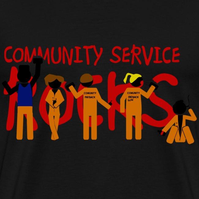 Misfits community service rocks