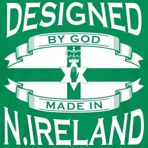 Designed by God - Made in Northern Irealnd M - Men's Premium T-Shirt