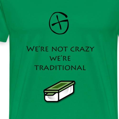 geocaching slogan - T-shirt Premium Homme