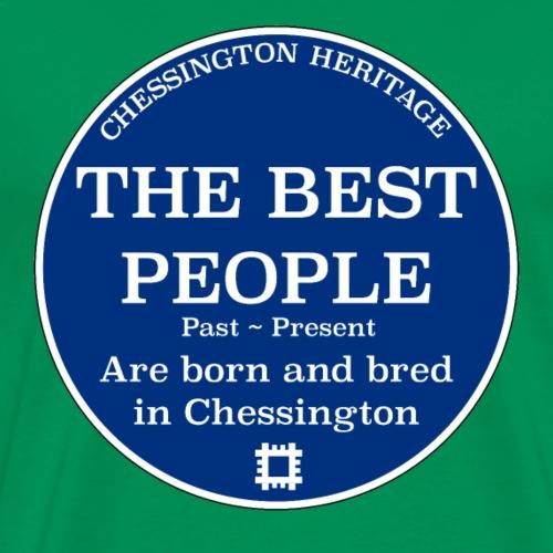 The Best People.... Heritage Plaque - Men's Premium T-Shirt